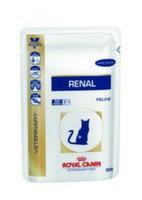 Royal Canin Renal (цыпленок) пауч для кошек при почечной недостаточности (12 шт. по 100 гр)