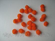 Помпоны 2 см. Оранжевые. Creativ 2165