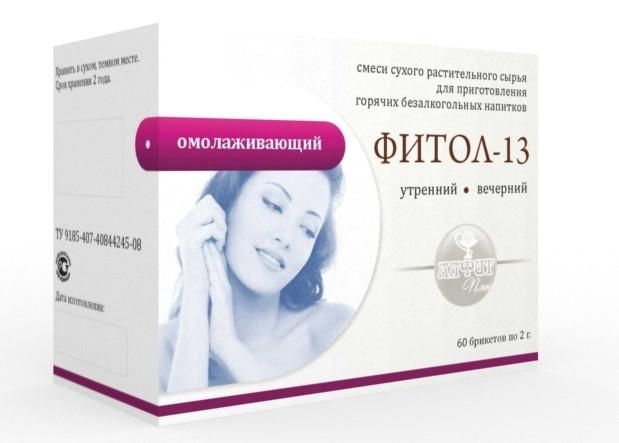 Фитол-13 (омолаживающий), 60 брикетов