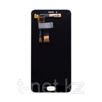 Дисплей MEIZU M3E A680H , с сенсором, цвет черный