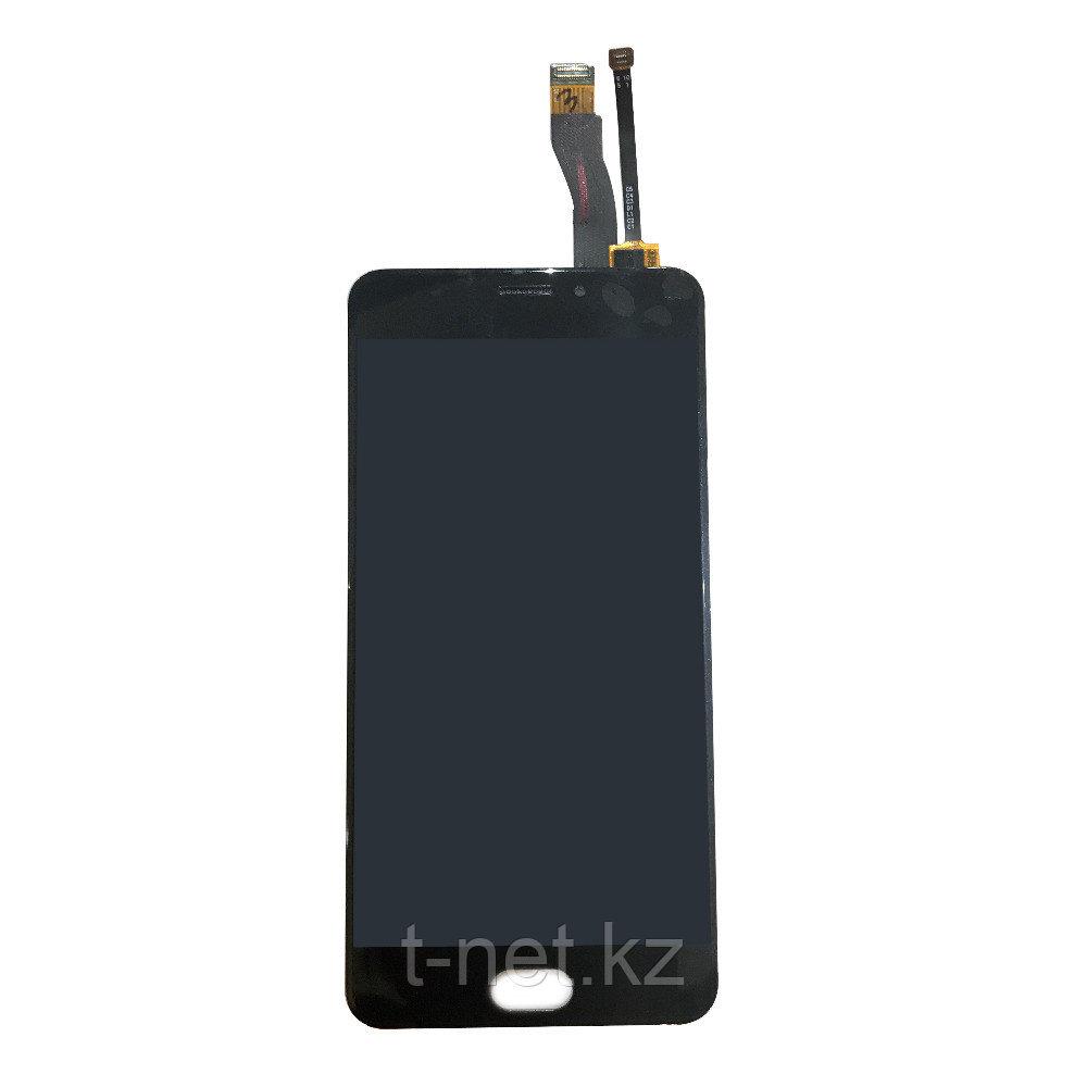 Дисплей MEIZU M5 Note M621 , с сенсором, цвет черный
