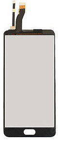 Дисплей MEIZU M5 Note M621 , с сенсором, цвет белый