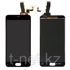 Дисплей MEIZU M5 M611H , с сенсором, цвет черный