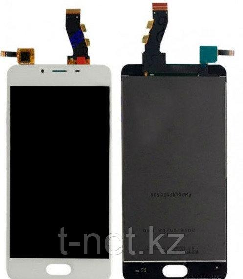 Дисплей MEIZU U10 U680H , с сенсором, цвет белый