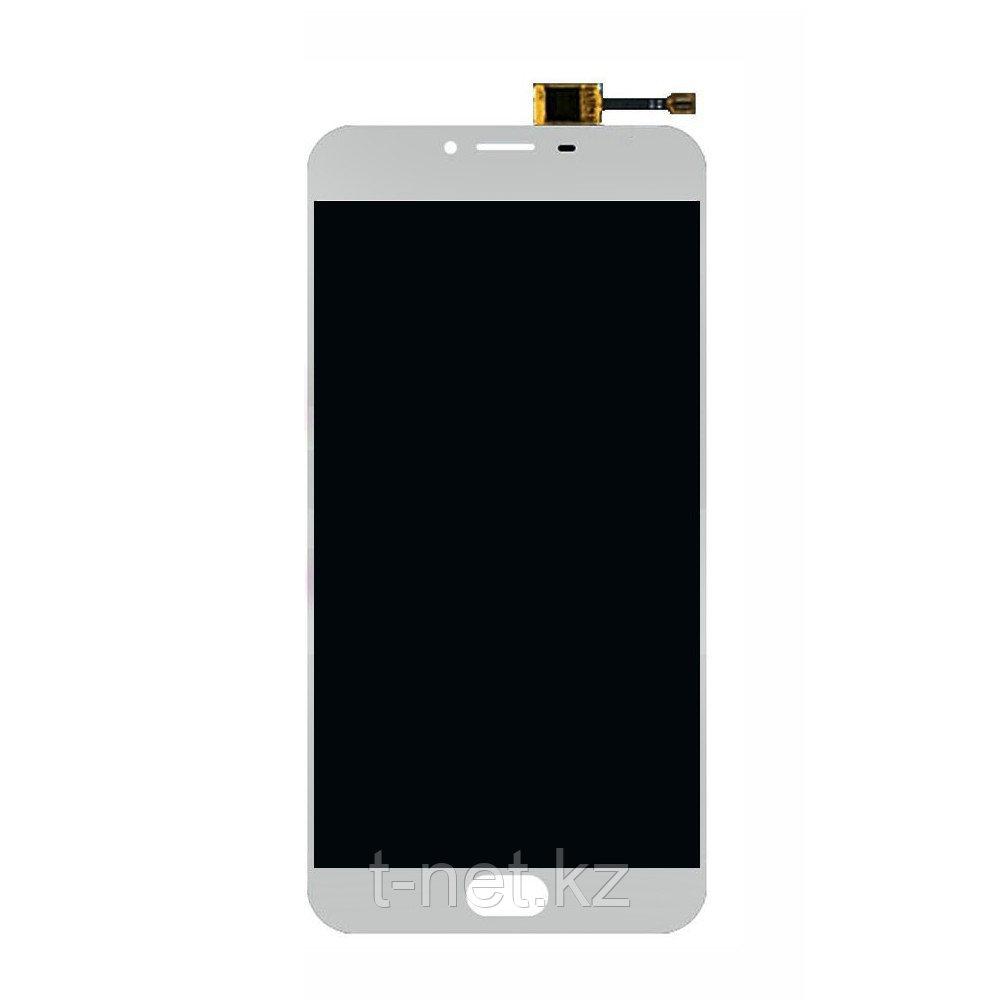 Дисплей MEIZU U20 U685H , с сенсором, цвет черный