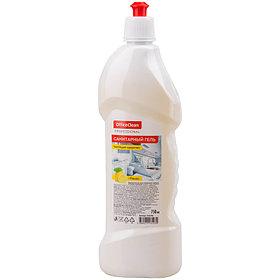 """Чистящее средство OfficeClean """"Professional. Санитарный гель. Лимон"""", кислота, пуш-пул, 750мл"""