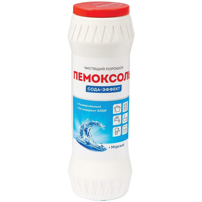 """Средство чистящее OfficeClean Пемоксоль """"Морской"""" порошок, 400г"""