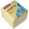 Салфетки бумажные OfficeClean, 1 слойн., 24*24см, желтые, 100шт.