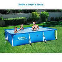 Каркасный бассейн 300х201х66 см, Bestway 56404