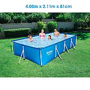 Каркасный бассейн 400х211х81 см, Bestway 56405