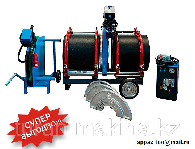 Аппараты для сварки пластиковых труб Turan Makina AL 500