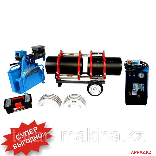 Аппарат стыковой сварки пластиковых труб Turan Makina AL 315