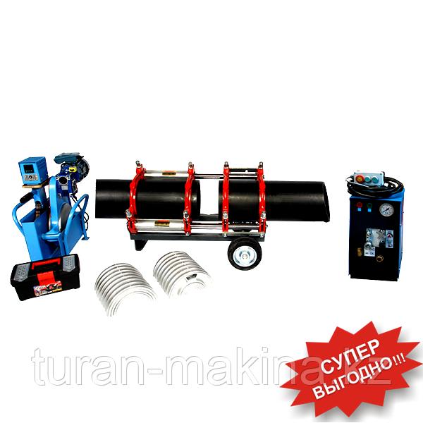 Аппарат для стыковой сварки пластиковых труб Turan Makina AL250