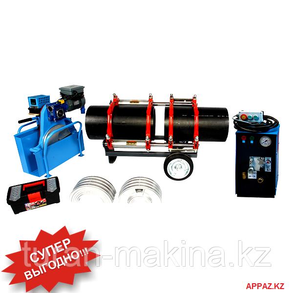 Аппарат для стыковой сварки полиэтиленовых труб Turan Makina AL 315