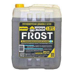 Проитвоморозная добавка для бетона (-25) Frost Premium 10л.