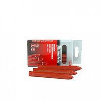 Мелки разметочные восковые красные, 120мм, коробка 6шт.// MATRIX