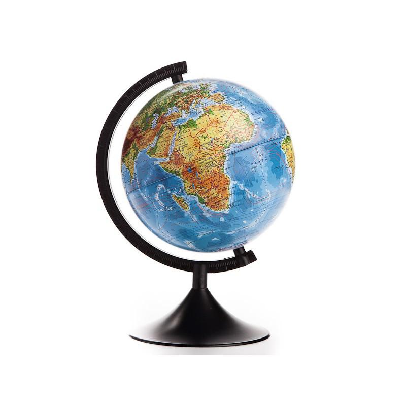 Глобус земли физический диаметр 12 см