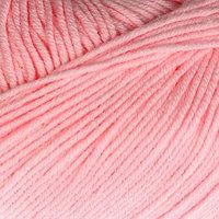 Пряжа 'Baby Cotton' 60 хлопок, 40 полиакрил 165м/50гр (3411 неж. розов.) (комплект из 5 шт.)