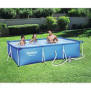 Каркасный бассейн 300х201х66 см с фильтр насосом, Bestway 56411