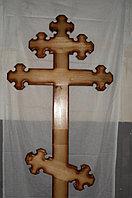 Крест православный, модель №1 (коричневый)