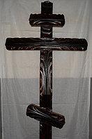 Крест православный, модель №4 (черный)