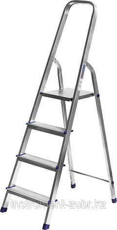 Лестница-стремянка СИБИН алюминиевая, 4 ступени, 82 см, фото 2