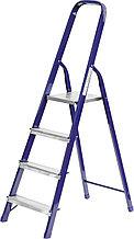 Лестница-стремянка СИБИН стальная, 4 ступени, 82 см