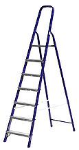 Лестница-стремянка СИБИН стальная, 7 ступеней, 145 см