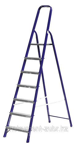 Лестница-стремянка СИБИН стальная, 7 ступеней, 145 см, фото 2