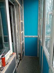 Установка витража, металлопластикогового окна и балконной пары по адресу Ш. Айманова 25/1 3