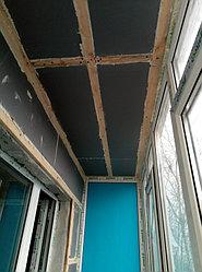 Установка витража, металлопластикогового окна и балконной пары по адресу Ш. Айманова 25/1 4