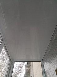 Установка витража, металлопластикогового окна и балконной пары по адресу Ш. Айманова 25/1 8