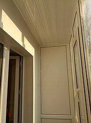 Установка витража, металлопластикогового окна и балконной пары по адресу Ш. Айманова 25/1 11