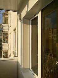Установка витража, металлопластикогового окна и балконной пары по адресу Ш. Айманова 25/1 17