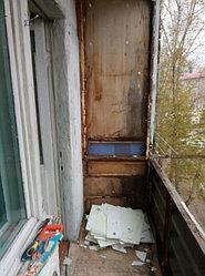Установка витража, металлопластикогового окна и балконной пары по адресу Ш. Айманова 25/1 25