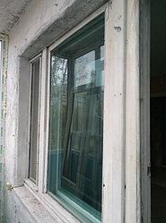 Установка витража, металлопластикогового окна и балконной пары по адресу Ш. Айманова 25/1 37