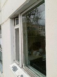 Установка витража, металлопластикогового окна и балконной пары по адресу Ш. Айманова 25/1 40
