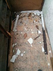Установка витража, металлопластикогового окна и балконной пары по адресу Ш. Айманова 25/1 43