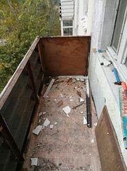 Установка витража, металлопластикогового окна и балконной пары по адресу Ш. Айманова 25/1 44