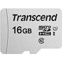 Карта памяти microSD 16Gb Transcend TS16GUSD300S
