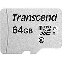 Карта памяти microSD 64Gb Transcend TS64GUSD300S