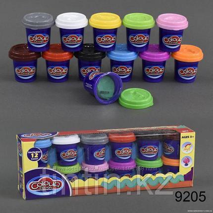 Набор пластилина 12 шт, Colour dough 9205, фото 2