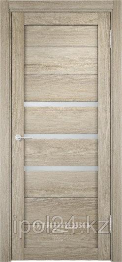 Межкомнатная дверь  Eldorf Мюнхен  (01) ДО остекление Сатинато