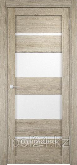 Межкомнатная дверь  Eldorf Мюнхен  (07) ДО остекление Сатинато