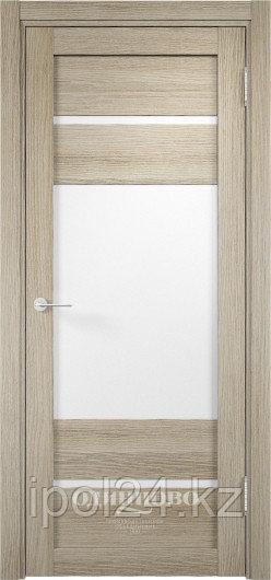 Межкомнатная дверь  Eldorf Мюнхен  (09) ДО остекление Сатинато