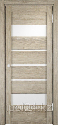 Межкомнатная дверь  Eldorf Мюнхен  (11) ДО остекление Сатинато