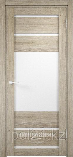 Межкомнатная дверь  Eldorf Мюнхен  (12) ДО остекление Сатинато