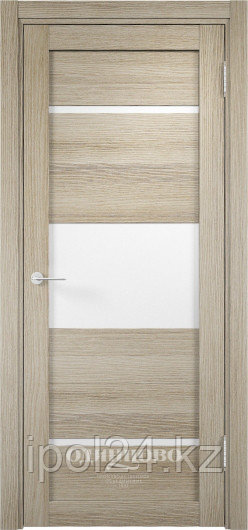 Межкомнатная дверь  Eldorf Мюнхен  (13) ДО остекление Сатинато