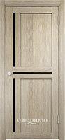 Межкомнатная дверь  Eldorf Берлин (01) ДО остекление Лакобель черное