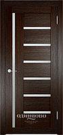 Межкомнатная дверь  Eldorf Берлин (02) ДО остекление Сатинато